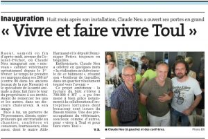 Inauguration clinique veterinaire toul